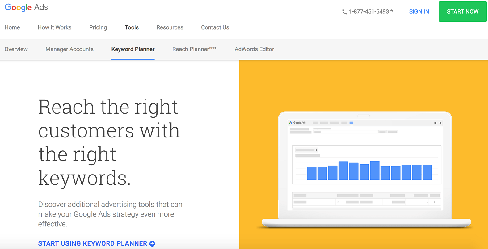 Pay per Click Keyword Planner