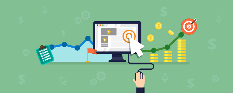 Pay per click ads (PPC)